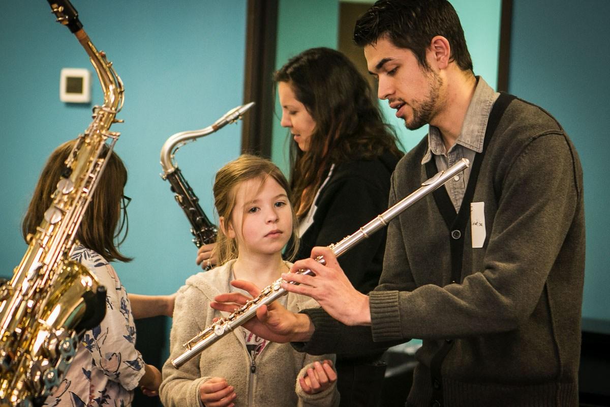 jeff miguel teaches flute